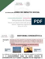 Sener Formato a Evaluación de Impacto Social