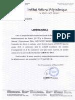 Communique EFCPC