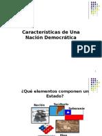 Clase 6° Nacion democrática