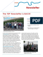 TDP Newsletter Spring 2017
