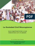 Serra, Luis - La Sociedad Civil Nicaraguense