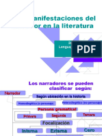 Manifestaciones del narrador en la literatura.ppt
