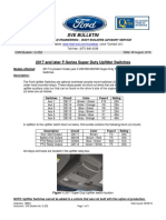 Ford F-Series 2017 Upfitter Switch System