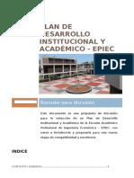 Plan de Desarrollo Institucional y Académico