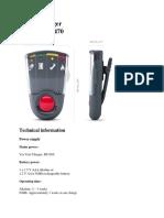 Pager Datasheet PDF