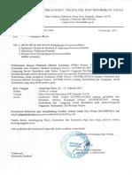 Undangan Sosialisasi PMK 230- Palembang