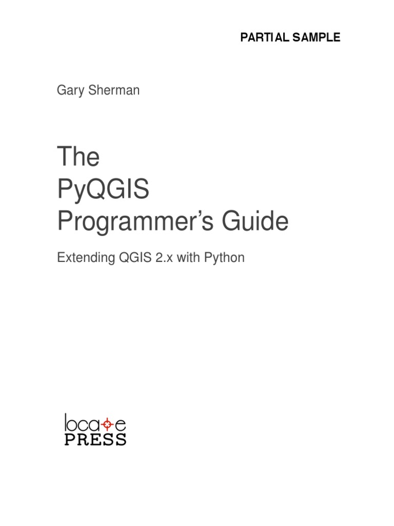 PyQGIS Programmers Guide Sample | Command Line Interface | Scripting