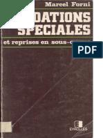 Fondations Sp Ciales Et Reprise en Sous-oeuvre Marcel Forni Eyrolles