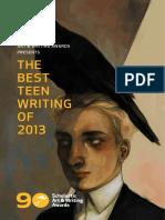 2013 Best Teen Writing FINAL