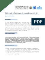 Información Diplomado Ele 2016 - Ucv
