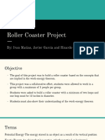roller coaster project