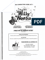 257253642 Willy Wonka Libretto Vocal Score