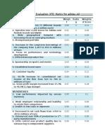 The Internal Factor Evaluation IFE Matri