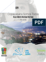 Plan de Desarrollo 2016 - 2019 Copacabana