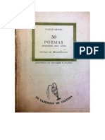 50 Poemas Escolhidos Pelo Autor 1961 - Emílio Moura