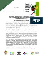 Boletín No. 5 Red de Actrores Del Cauca