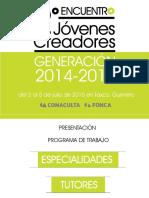Catálogo Del 2do Encuentro