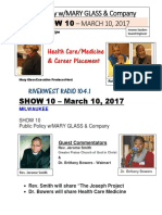 SHOW 10 - March 10, 2017