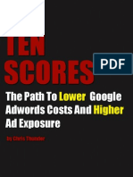 How To Get Higher (10/10) AdWords Quality Scores - Tenscore.com