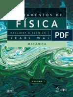 Fundamentos da Física I - Halliday & Resnick - 9ª Ed - Mecânica - Português - PT-BR - Colorido.pdf