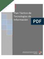 Plan Tactico de Tecnologias de Informacion