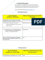 annotated bibliography - sophia cummings - google docs