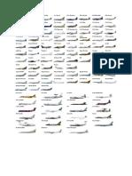 Planes Sheet
