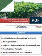 Legislação de Fertilizantes Organominerais e Gestão de Resíduos Sólidos - ABISOLO