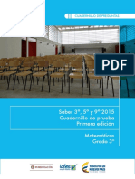 Ejemplos de Preguntas Saber 3 Matematicas 2015 v3