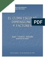 Dimensiones y Factores