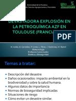 Devastadora Explosión en La Petroquímica AZF en Toulouse