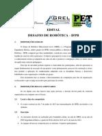 Desafio de Robótica - Edital 2013
