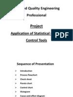 CQEP - Application of SQC Tools
