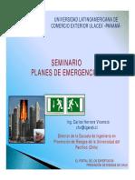 Plan Emergencia Panama