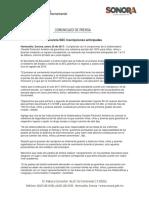 25/01/17 Anuncia SEC Inscripciones Anticipadas –C.011786