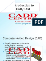 Introduction to CADCAM
