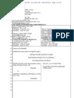 NFL Drug Complaint NEW Unredacted