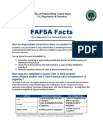 FAFSA Facts Drug Eligibility