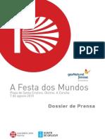 """""""A Festa Dos Mundos"""", festival de Xacobeo 2010"""