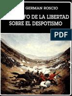 Jgroscio El Triunfo de La Libertad Sobre El Despotismo