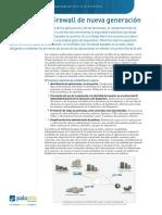 Datasheet Firewall Feature Overview