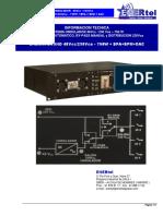 ONDULADOR ENOND 48Vcc-230Vca-750VA +BPA+BPM - INFO