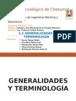 1.1 Generalidades y Terminología