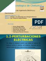 1.2 Perturbaciones Eléctricas