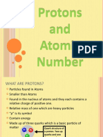 Protons and Atomic Number - Member P