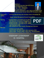 Visionary Leadership in Hospital