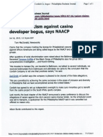 Cordish - Claims of Racism Against Casino Developer Bogus, Say NAACP