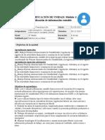 Planificacion Por Unidad Informatica Para La Administración