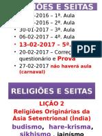 Religiões e Seitas Aula 5