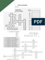 Guía de Crucigramas